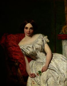 William Powell Frith - Portrait de annie gambart