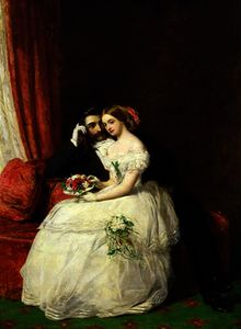 William Powell Frith - La proposition