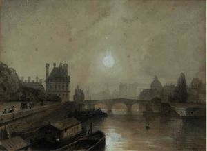 William Wyld - Vues de paris de l seine