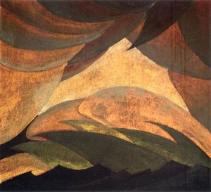 Arthur Garfield Dove - Untitled (440)