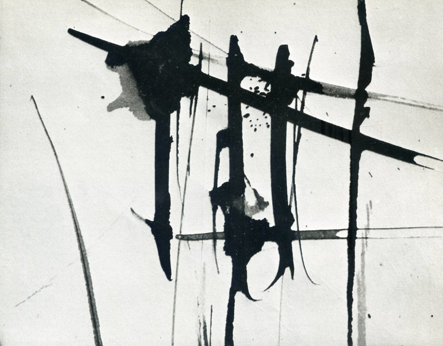 Untitled (862) de Hans Heinrich Hartung (1904-1989, Germany) | WahooArt.com