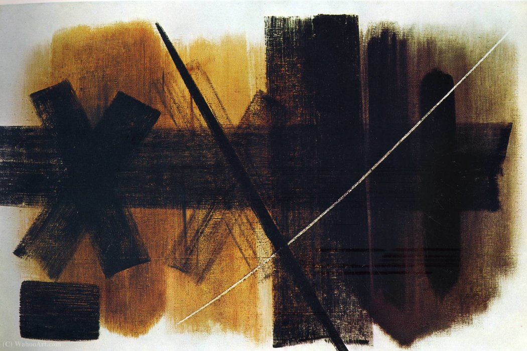 Untitled (529) de Hans Heinrich Hartung (1904-1989, Germany)