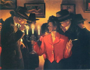 Jack Vettriano - Untitled (627)