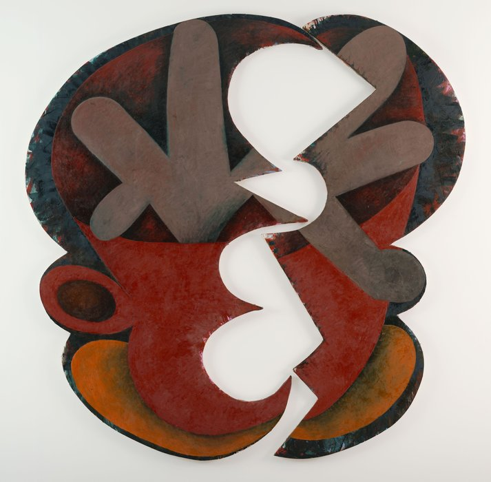 Aïe de Elizabeth Murray (1940-2007, United States)