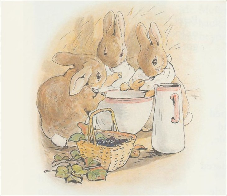 Peter Rabbit 32a - (11x12) de Beatrix Potter (1866-1943)