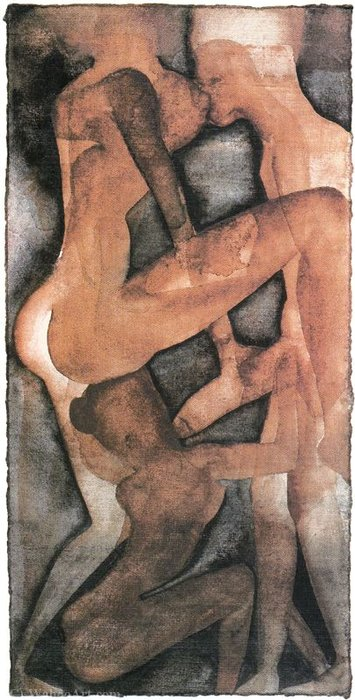Untitled (948) de Francesco Clemente
