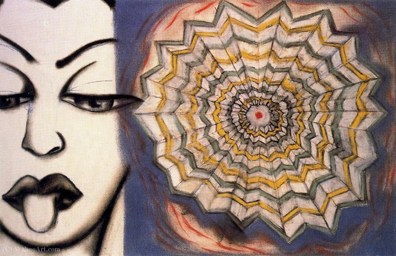 Untitled (463) de Francesco Clemente | WahooArt.com