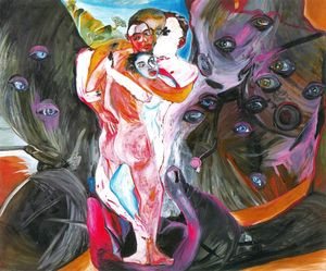 Francesco Clemente - Untitled (523)