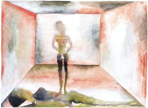 Francesco Clemente - Untitled (508)