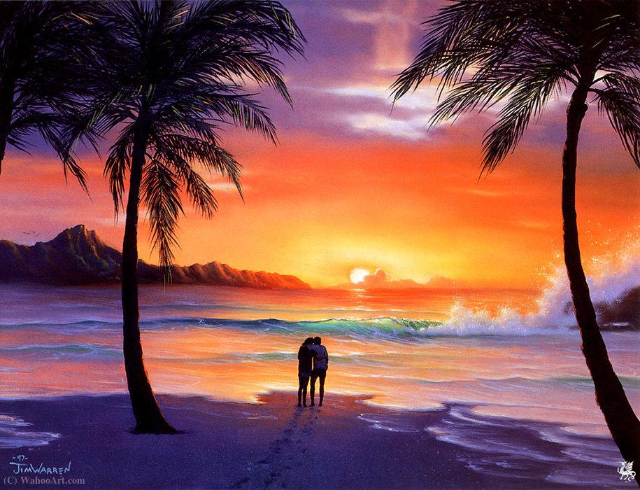 Coucher de soleil romantique de jim warren - L heure du coucher du soleil aujourd hui ...