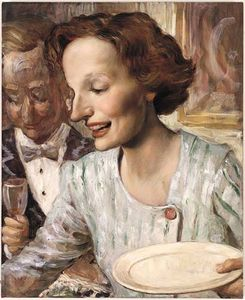 John Currin - Buffet (1999)