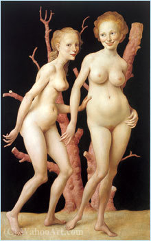 le rose Arborescence  1999   de John Currin