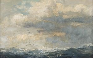 Edward Seago - Breakers on the Shallow