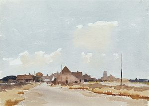 Edward Seago - Sea Palling - Norfolk