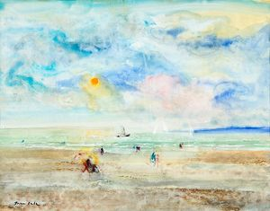 Emilio Grau Sala - The Beach en Normandie