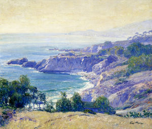 Guy Rose - Laguna côte