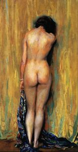 Guy Rose - Standing nude