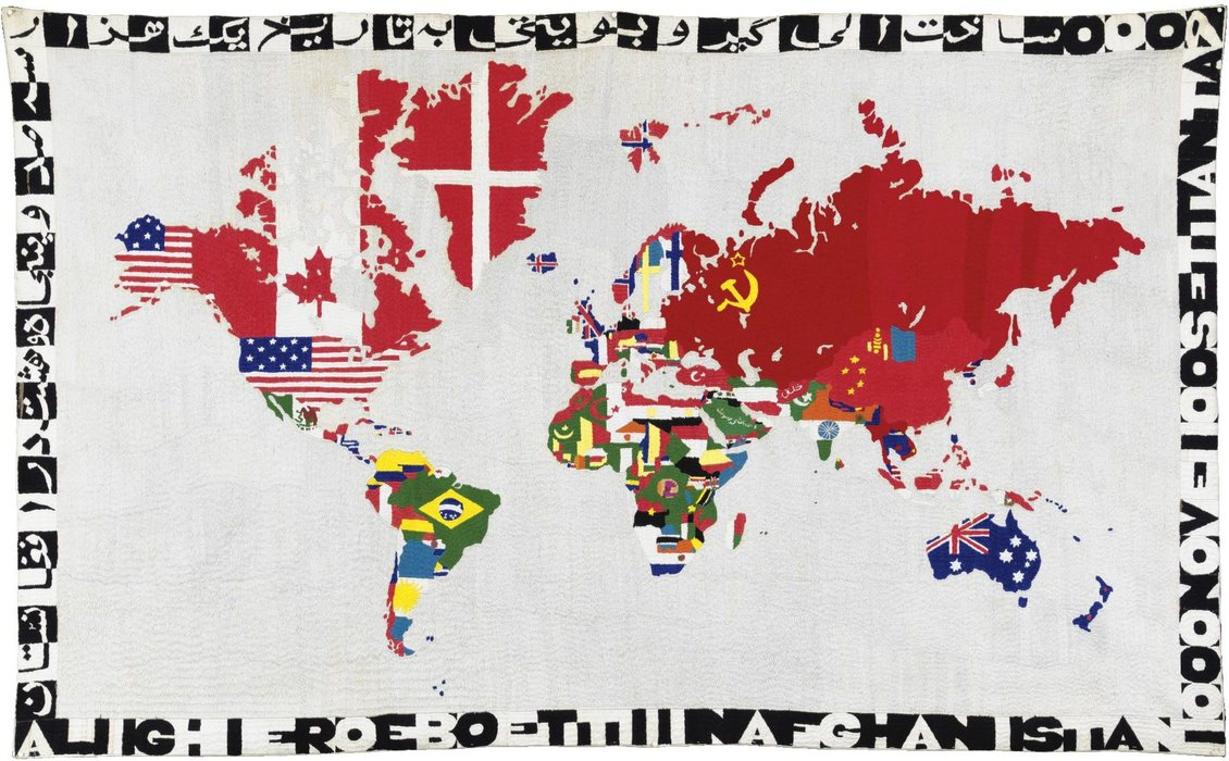 Untitled (423) de Alighiero Boetti (1940-1994) | Reproduction Peinture | WahooArt.com