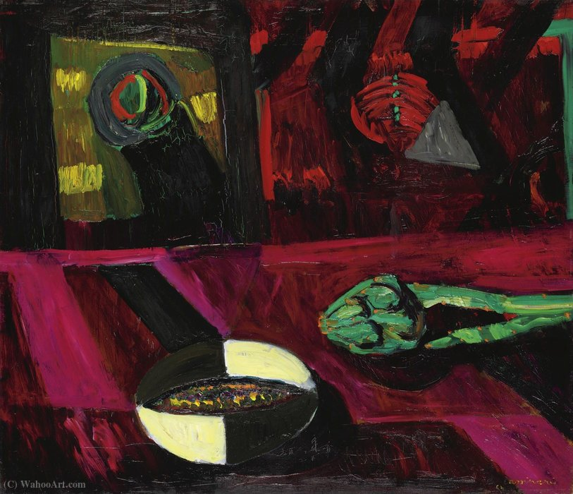 Untitled (466) de Bruno Cassinari (1912-1992)
