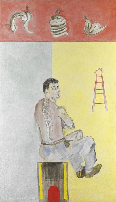 Untitled (605) de Francesco Clemente