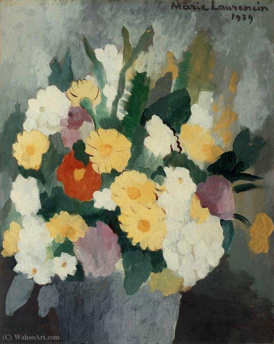bouquet de fleurs 1939 de marie laurencin 1883 1956. Black Bedroom Furniture Sets. Home Design Ideas