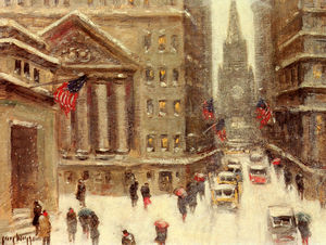 Guy Carleton Wiggins - Hiver, New York