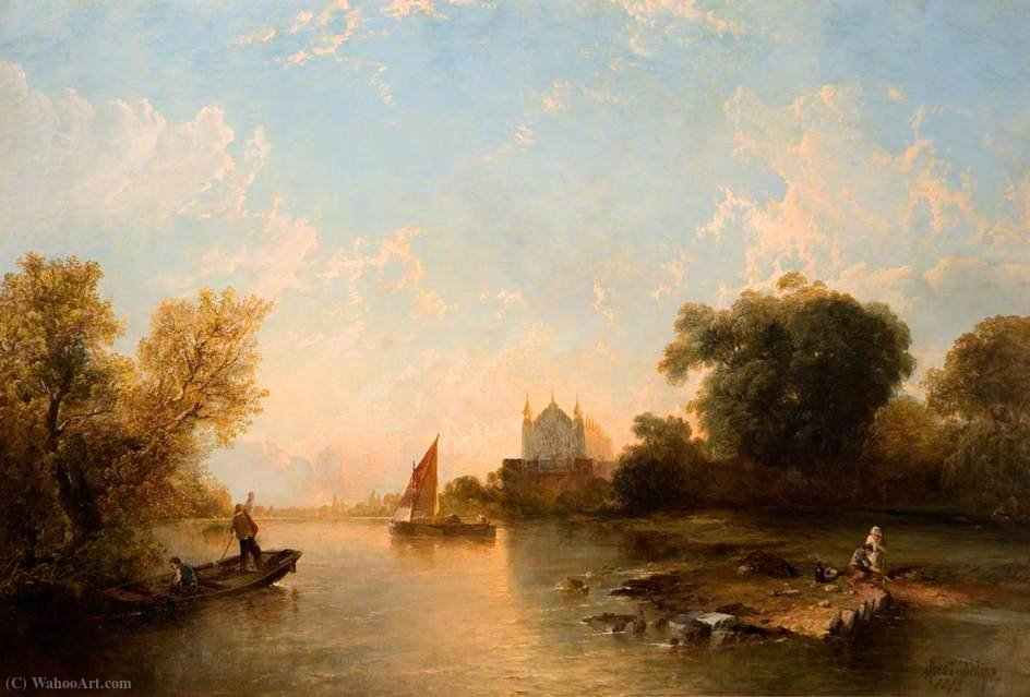 Eton College de la rivière de Alfred Montague (1832-1883, United Kingdom)