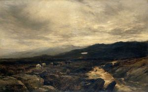 Alfred Walter Williams - Sur les Fells Cumberland