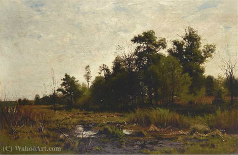 Marais de Charles Harry Eaton (1850-1901) | Copie Tableau | WahooArt.com