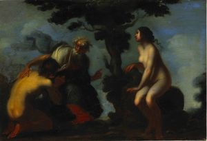 Francesco Furini - Adam et Eve