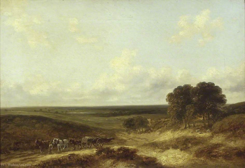 Mousehole Heath, Norfolk de George Vincent (1796-1831, United Kingdom)