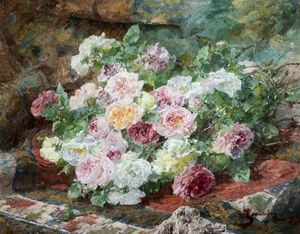 Georges Jeannin - Roses