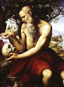 Giovanni Francesco Caroto - St Jerome (1512)