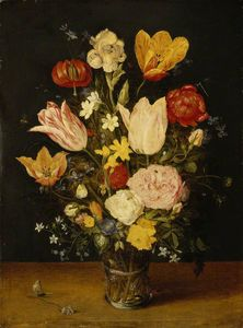 Jan The Younger Brueghel - Un vase de fleurs