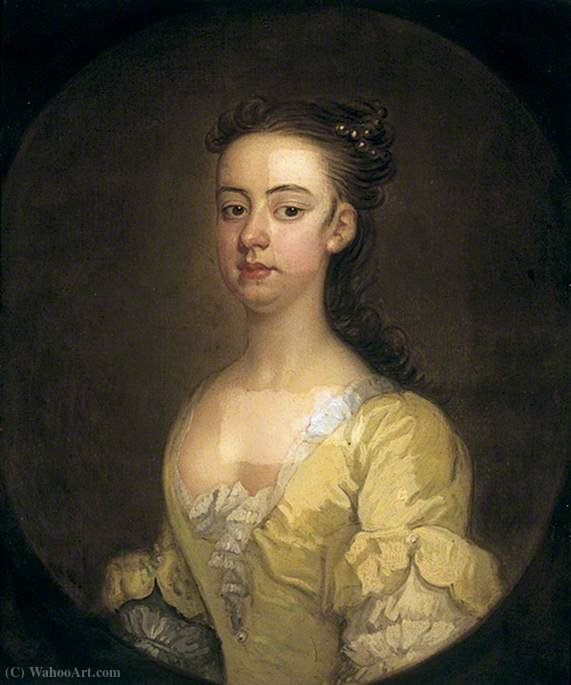 Anne fountayne de John Vanderbank (1694-1739, United Kingdom)