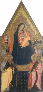 Master Of San Lucchese - Retable Colonna