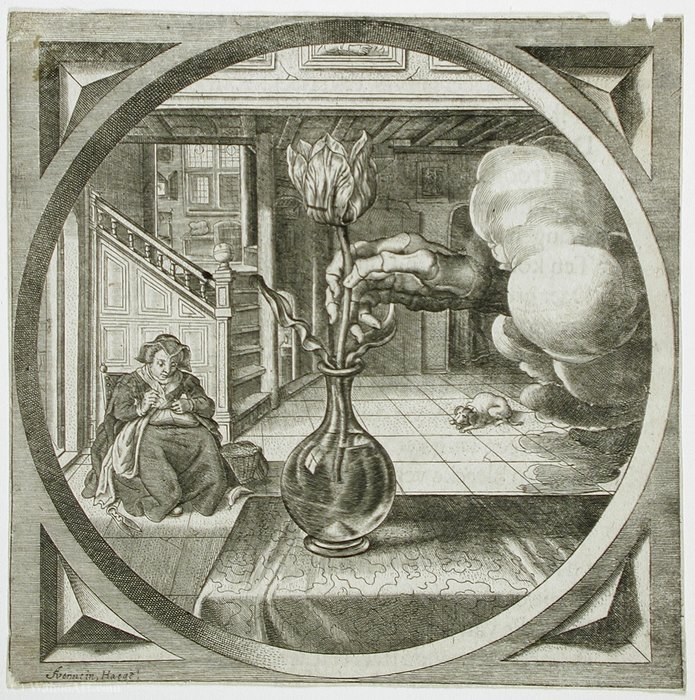Achat Reproductions D'art | Illustration de «Hovwelyck de Theodor Matham (Dirck Matham) (1605-1676, Netherlands) | WahooArt.com