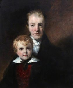 William Dyce - John Small et son Fils