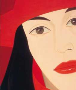 Alex Katz - rouge coat