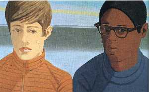 Alex Katz - Vincent et Tony