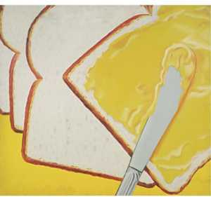 James Rosenquist - blanc pain