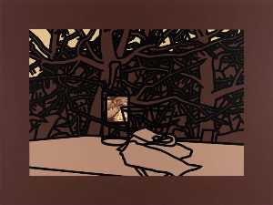 Patrick Caulfield - Ros bouteille