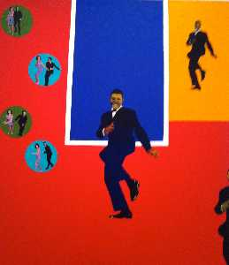 Rosalyn Drexler - Checker chubby
