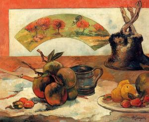 Paul Gauguin - Nature morte avec ventilateur