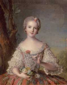 Marc Nattier - Madame Louise de france