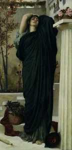 Lord Frederic Leighton - Electra au tombeau d Agamemnon