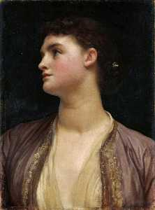 Lord Frederic Leighton - Lucie