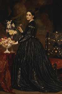 Lord Frederic Leighton - Mme . james guthrie
