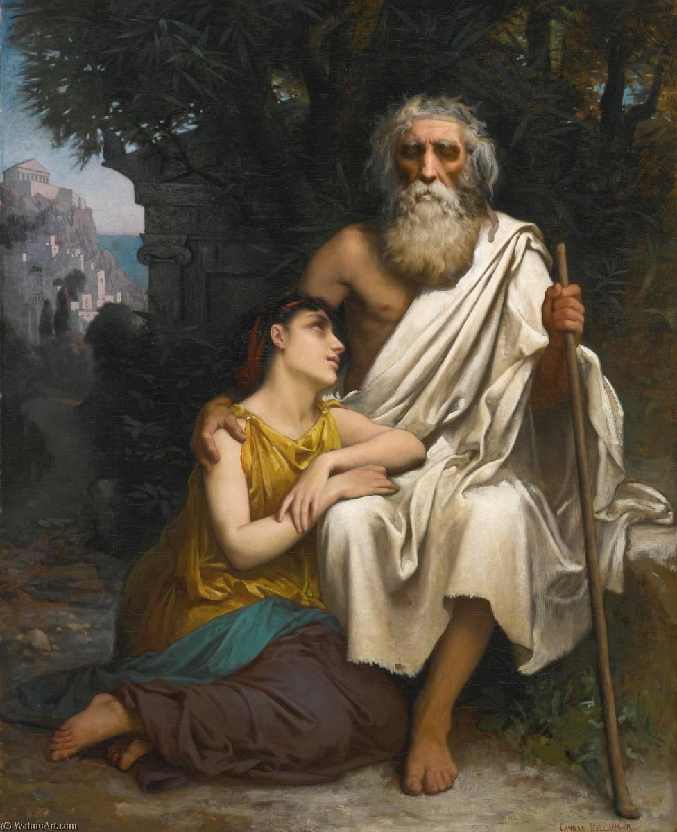 Œdipe et Antigone de Camille Félix Bellanger (1853-1923) | Reproductions De Qualité Musée ...