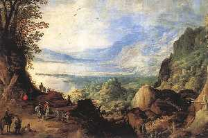 Joos De Momper The Younger - Paysage
